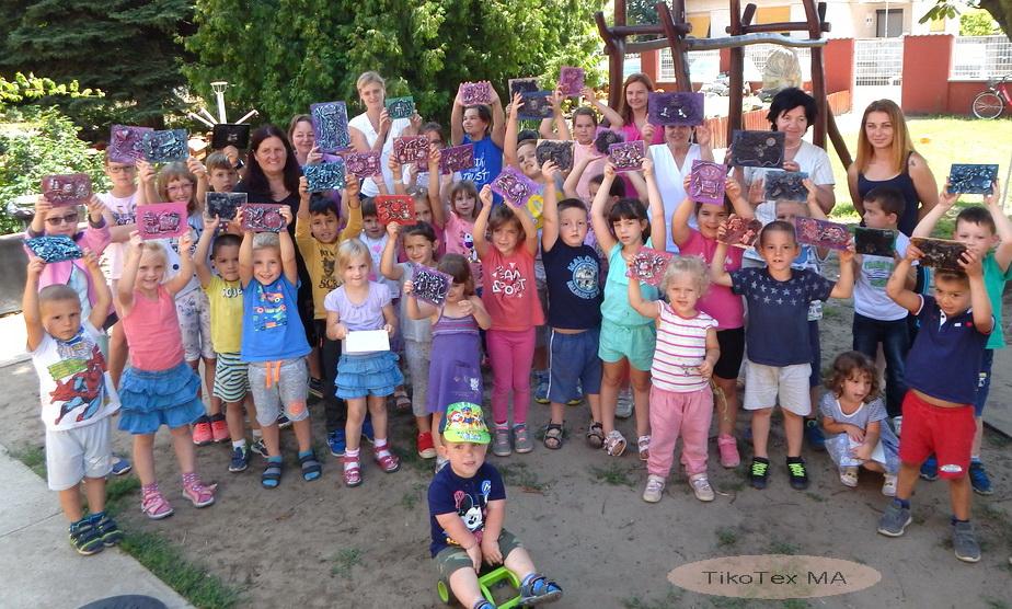 Ovis TikoTex foglalkozás 30 kisgyermekkel